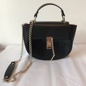 Sandra Roberts Black Handbag
